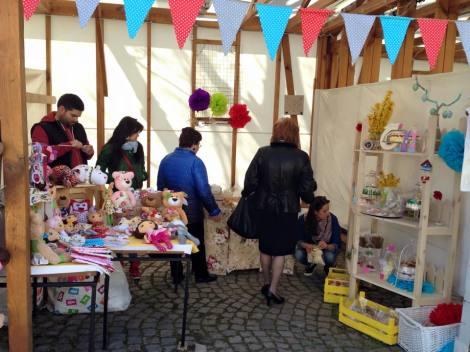 Част от красотите на великденския благотворителен базар в Созопол