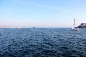 Созопол посреща Никулден в открито море 1