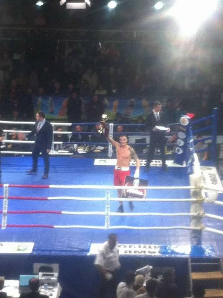 Петър Драганов от Созопол - шампион на България до 69кг