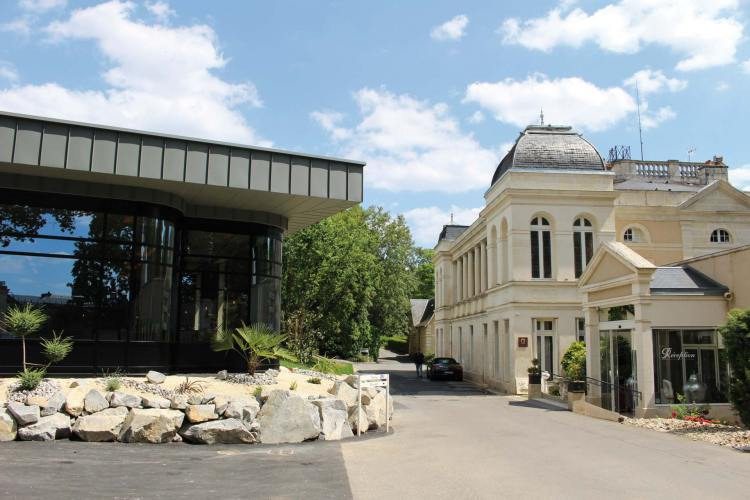 Le Spa du Clos - Le spa et le château