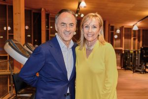 Nerio Alessandri, Fondateur de Technogym et Susie Ellis, CEO Global Wellness Summit