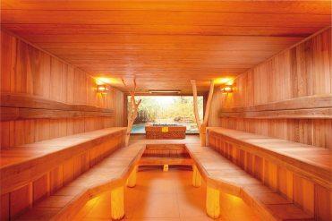 Sauna forêt