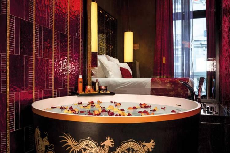 Le menu de bain du Buddha-Bar