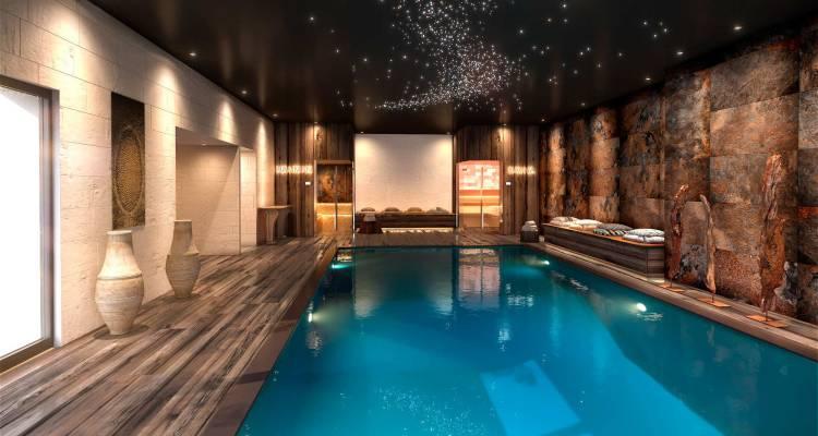 Un spa dans une maison de maître