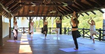 Yoga class Shanti Som