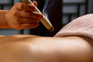 moxibustion meridian therapies