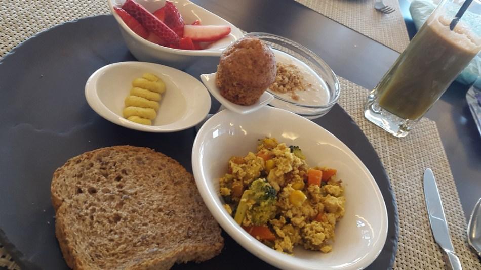 Macrobiotic breakfast at SHA Wellness Clinic