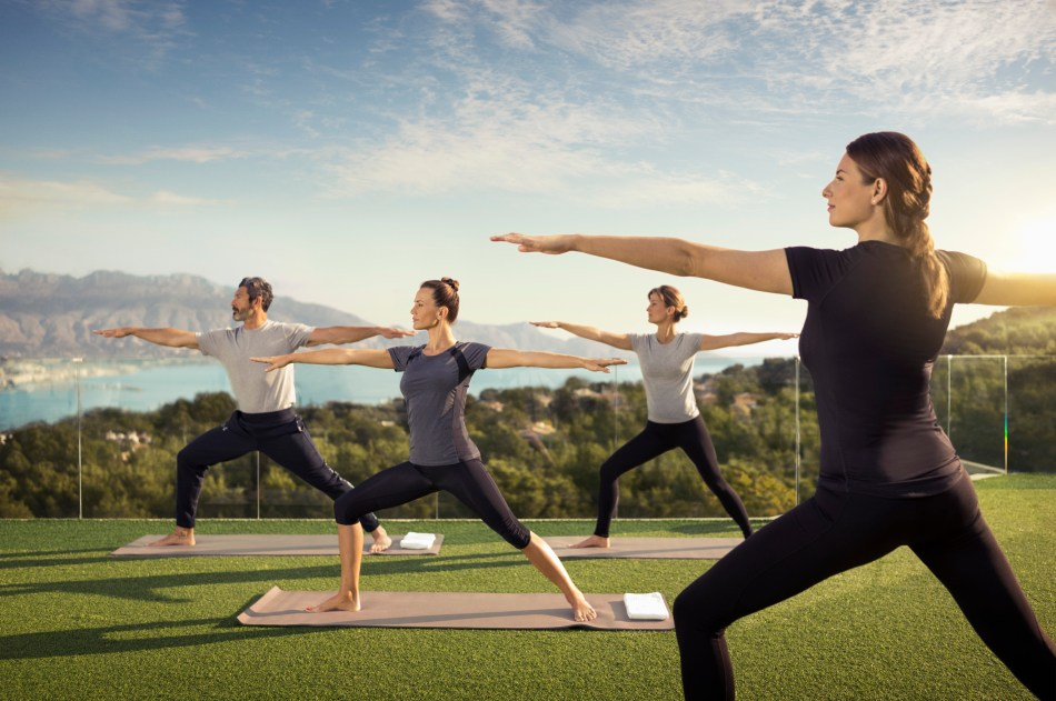 SIS Spa in Spain, SHA Wellness Clinic, Fitness program, Yoga class