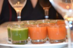 Cleansing juice to detox the body at GEM Wellness & Spa