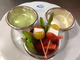 Healthy Appetizer fo a healthy menu