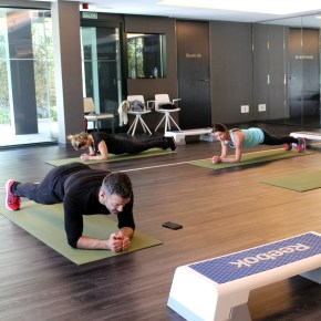 Healthy Living academy at SHA Wellness Clinic, Abs, Glutes, Legs class (GAP) by SIS Spa in Spain