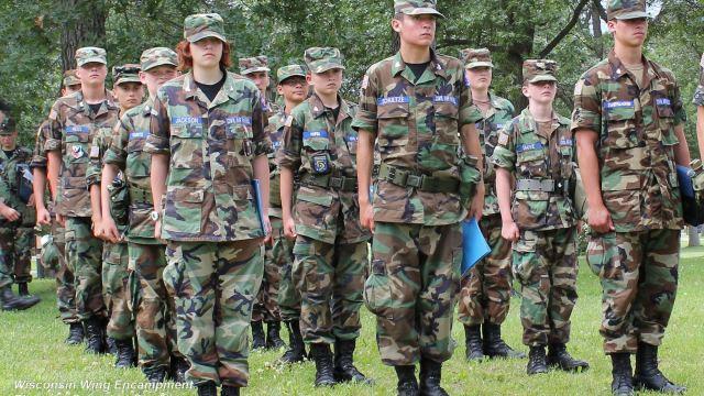 WI CAP Cadets 2014 Encampment