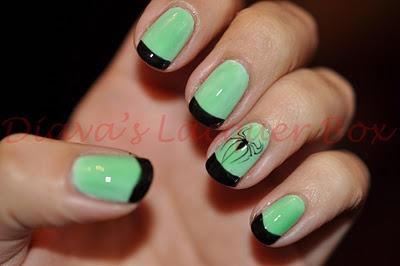 trend spotting halloween nail art  spa blah blah beauty