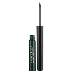 Makeup Forever Aqua Liner in 3 iridescent Emerald Green