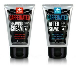 Pacific Shaving CO Caffeinated Shaving Cream