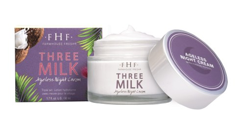 Three Milk Ageless Night Cream from Farmhouse Fresh