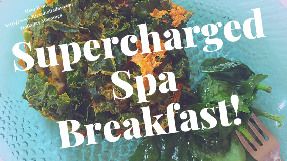 5 Minute Decadent Spa Breakfast to SuperCharge Your Day! – Holladay Mornings