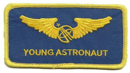 Young Astronaut Wings Patch