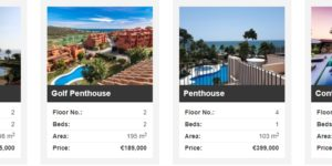 estepona property selection