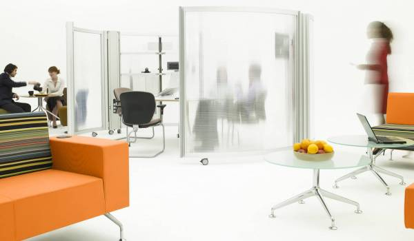 Picture of an modern, open-plan office