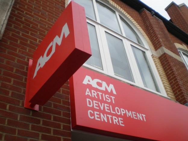ACM external signage