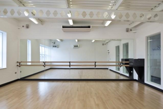 Image of Laine Theatre Arts acoustically sealed dance studio