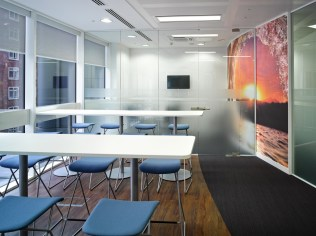 Image of Thomas Cook HQ break-out area