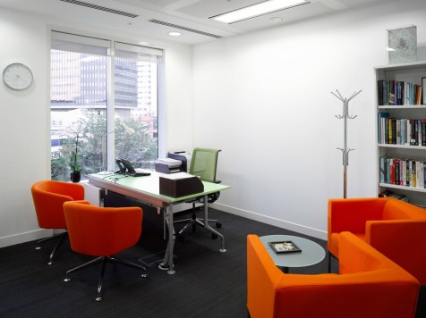 Image of Thomas Cook HQ managers office