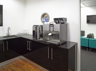 Image of Thomas Cook HQ office break-out refreshment area