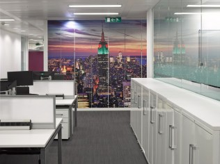Image of Thomas Cook HQ office storage