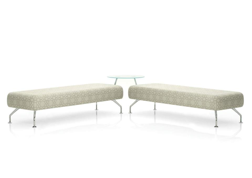Picture of Orangebox Acre Reception Soft Bench Seating