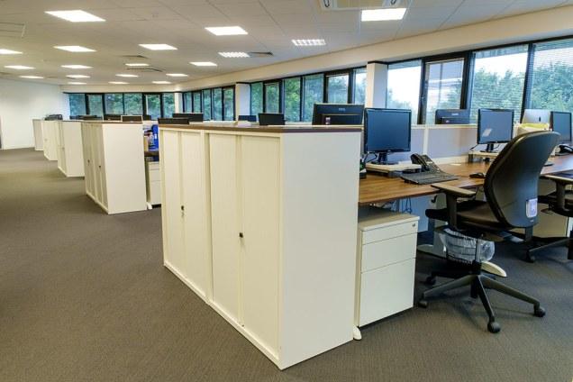 Image of Orders of St John Care Trust office desks refurbishment