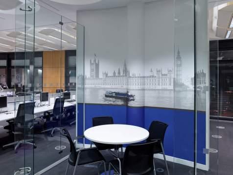 Thames Water Frameless Glazing
