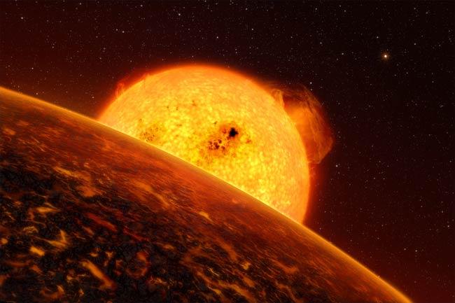 Planète volcanique: Mustafar