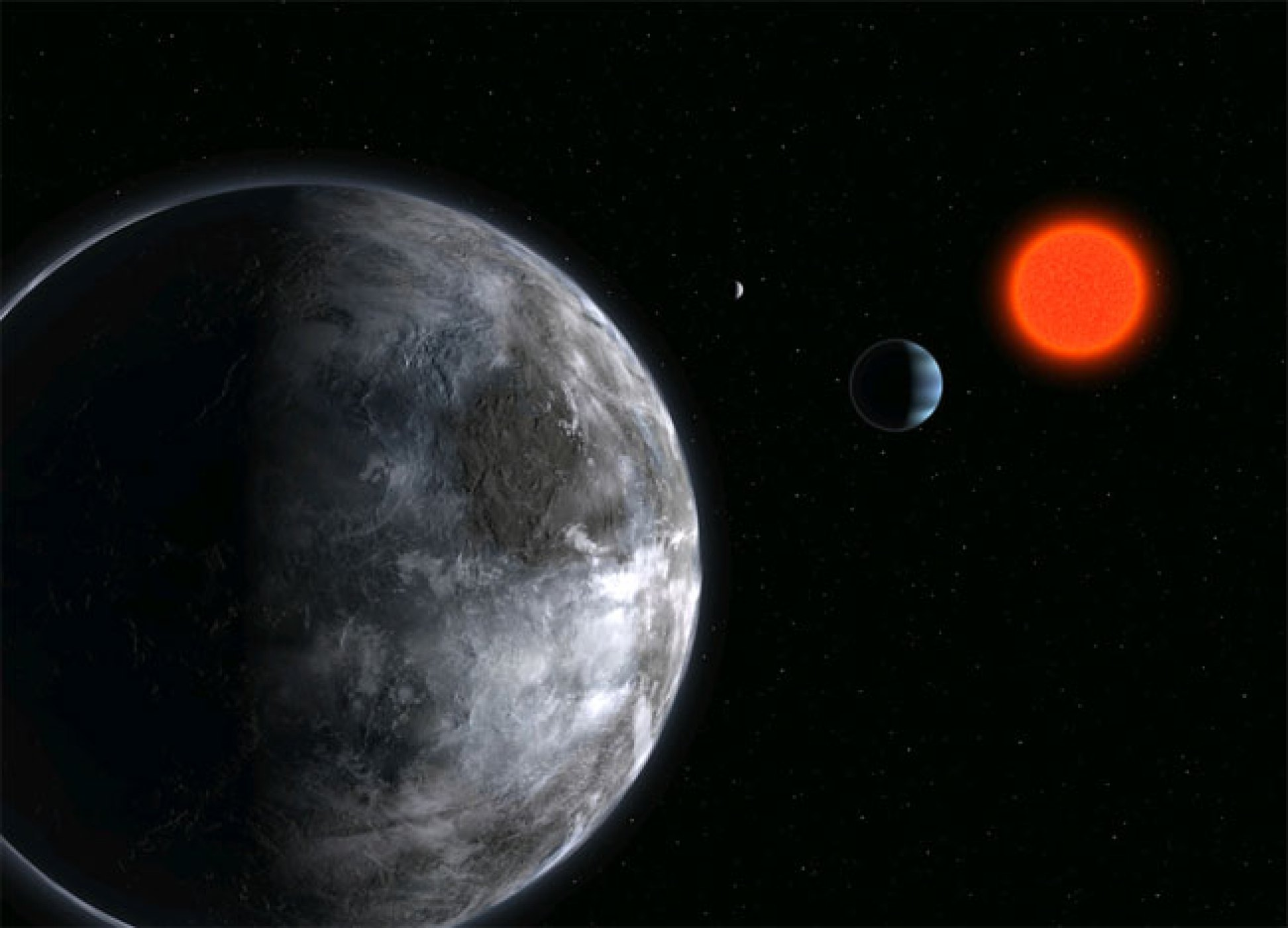 Gliese 581 d, the most potentially habitable planet discovered