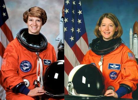 NASA's 2 Female Space Shuttle Commanders