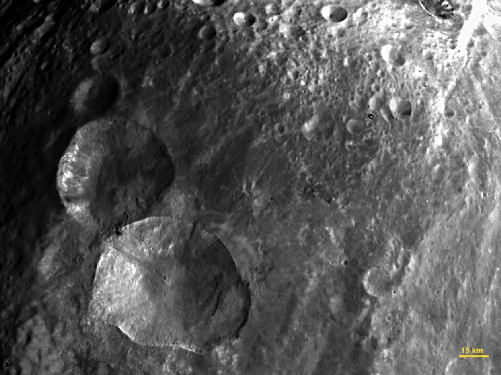 Vesta: pourrait cacher le Millennium Falcon