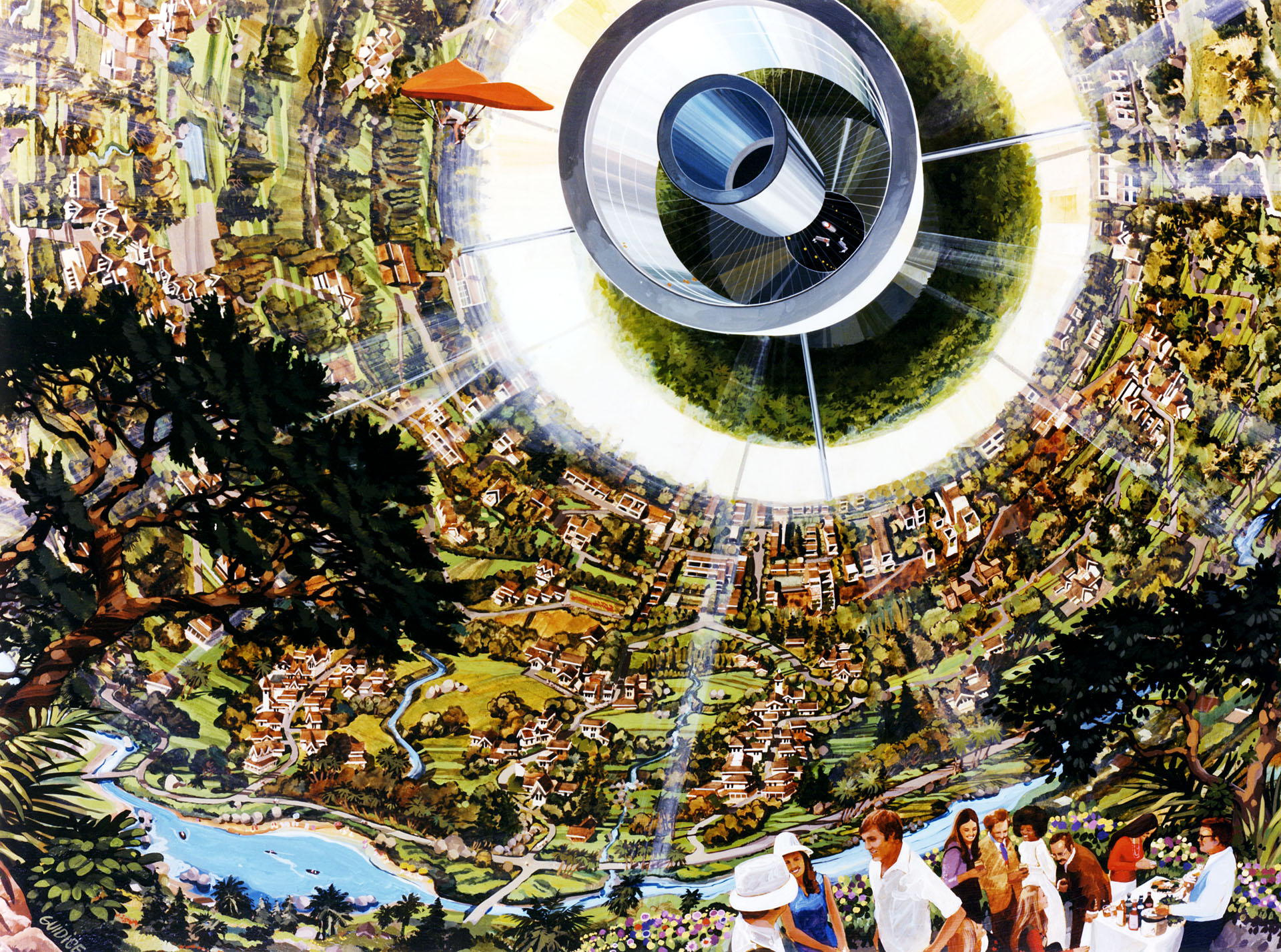 Space Colony Concepts: NASA's 1970s Vision for Giant Space ...