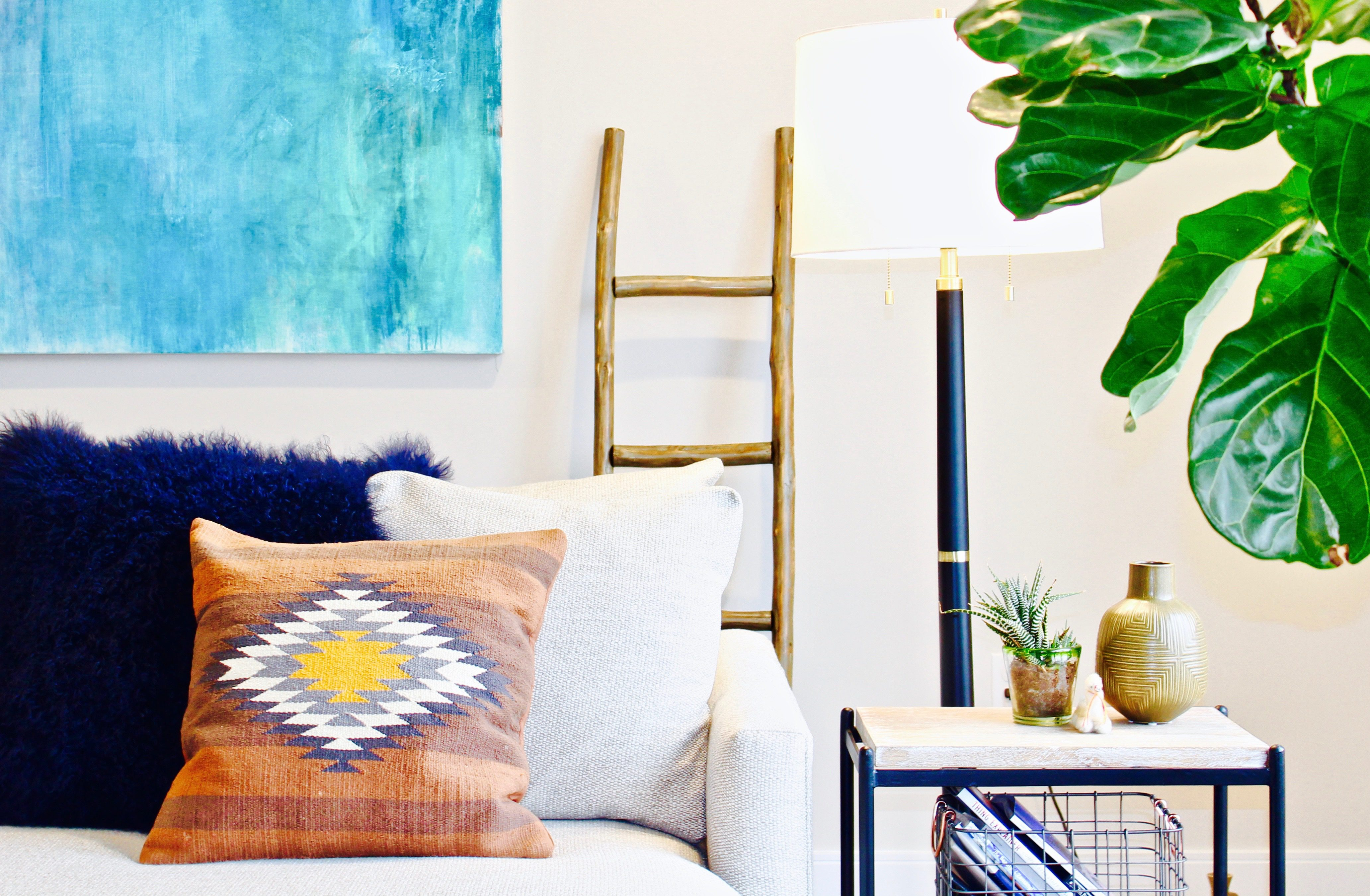 Southwestern Prints in a Modern Home | Space + Habit