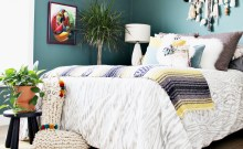 Space and Habit Decorating With What You Have Boho Bedroom Full Room