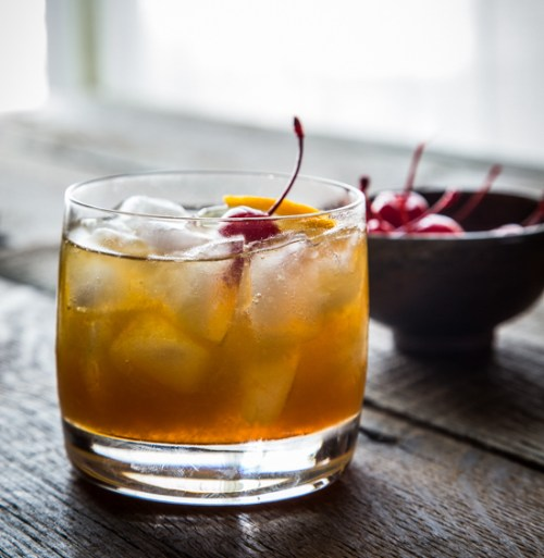 Space and Habit Fall Drink Recipes Maple Bourbon