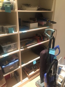 Closet After Declutter and Tag