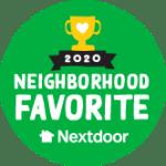 Nextdoor Favorite Space and Serenity Sticker