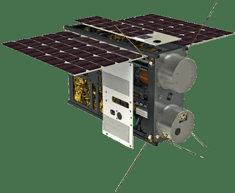 6U cubesat transparent - Artemis Space