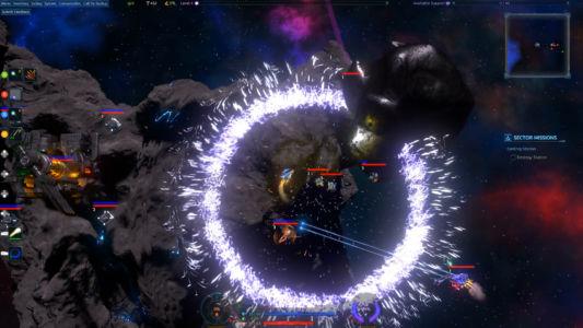 Emp Burst Over Enemy Base