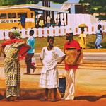 Watercolors - 1st Place - William Kwamena-Poh