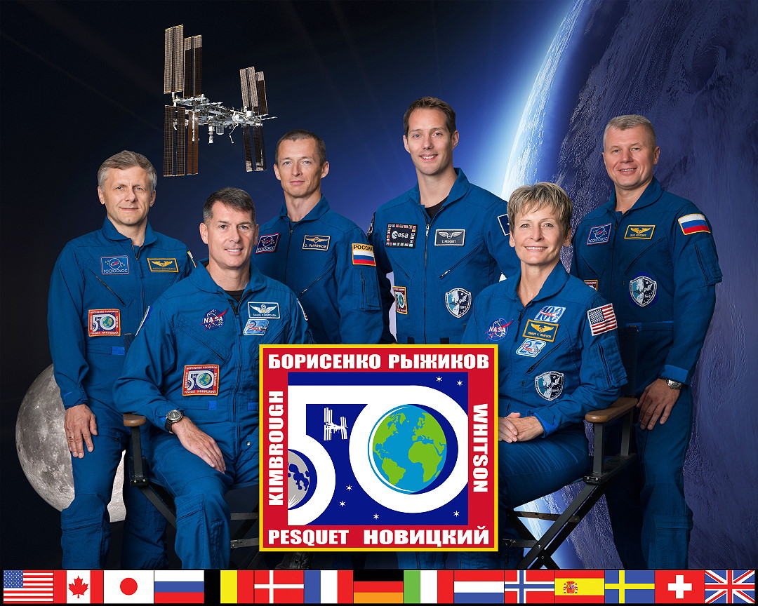 Image result for expedition 50 crew