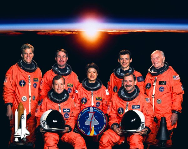 Spaceflight mission report STS95
