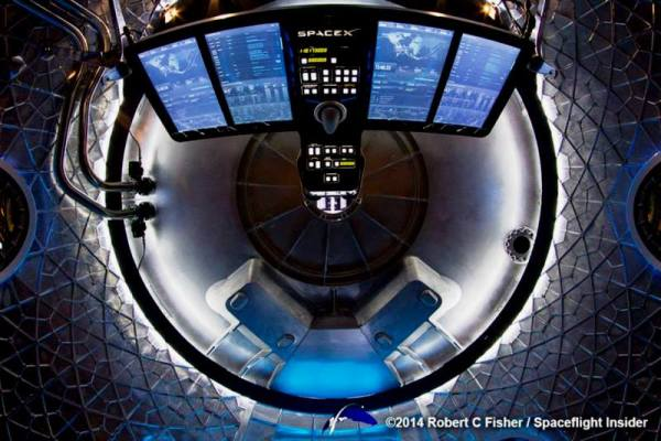 SpaceX reveals new humanrated Dragon V2 capsule