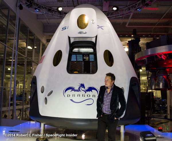 SpaceX reveals new human-rated Dragon V2 capsule ...